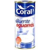 AGUARRAS 900ML - CORAL