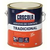 CASCOLA TRADICIONAL S/TOLUOL - 2,8KG HENKEL