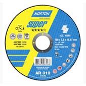 Disco Corte Ferro 254X3,2X19,5 AR 312  254MM - Norton