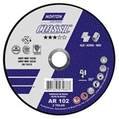 DISCO DE CORTE 115x1.6x22.23 CLASSIC - NORTON