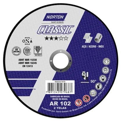DISCO DE CORTE 115x1.6x22.23 CLASSIC - NORTON