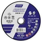 DISCO DE CORTE 115X1X22.23 CLASSIC - NORTON