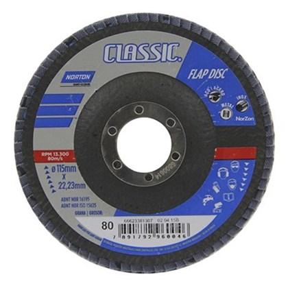 """Disco Flap 4.1/2""""  F227 Grão 50 - Norton"""
