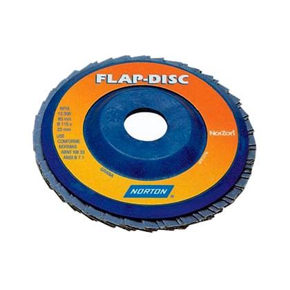 DISCO FLAP GRANDE 180X22MM - GRÃO 40 NORTON