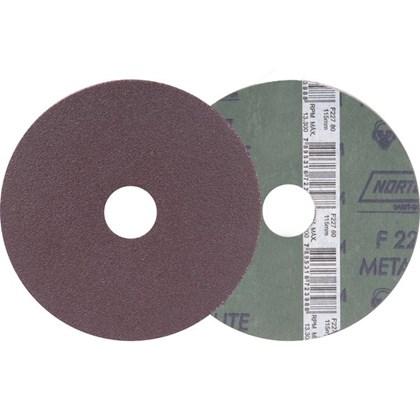 DISCO LIXA 4.1/2 F227 - GRÃO 120 NORTON