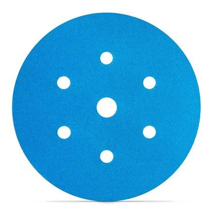 "Disco orb 800 150MM 6"" Hookit Blue 7 Furos - 3M"