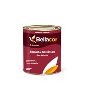 Esmalte Sintético Acetinado Branco 900ml - Bellacor