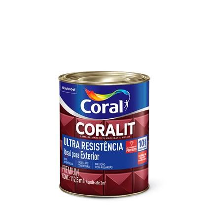 Esmalte Sintético Brilhante Amarelo Coralit Ultra Resistência 112ml  Coral