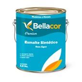 Esmalte Sintético Brilhante Branco Base Água 3,6L - Bellacor