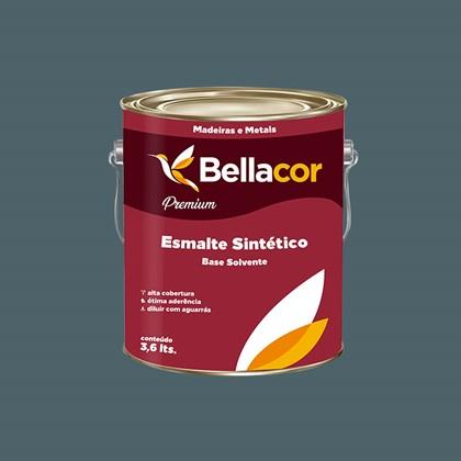 Esmalte Sintético Brilhante Cinza Escuro 3,6L - Bellacor