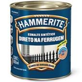 ESMALTE SINTÉTICO BRILHANTE HAMMERITE CINZA - 800ML CORAL