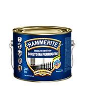 ESMALTE SINTÉTICO BRILHANTE HAMMERITE PRETO - 2,4L CORAL