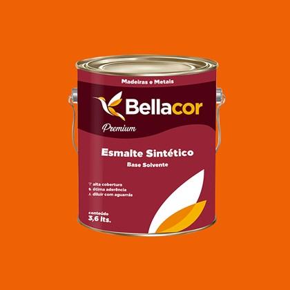 Esmalte Sintético Brilhante Laranja 3,6L - Bellacor