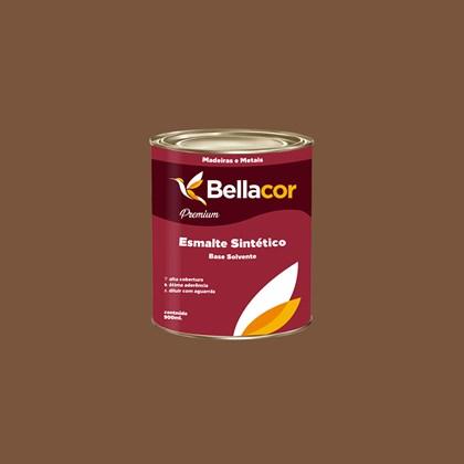Esmalte Sintético Brilhante Marrom Conhaque 900ml - Bellacor