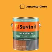 Esmalte Sintético Brilhante Seca Rápido Amarelo Ouro Suvinil 3,6L