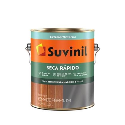 ESMALTE SINTÉTICO BRILHANTE SECA RÁPIDO (BASE ÁGUA) TABACO - 3,6L SUVINIL