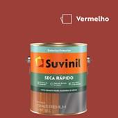 Esmalte Sintético Brilhante Seca Rápido Vermelho  Suvinil 3,6L