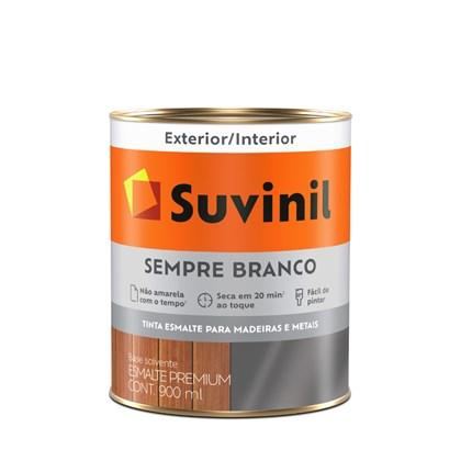 ESMALTE SINTÉTICO BRILHANTE SEMPRE BRANCO - 900ML SUVINIL