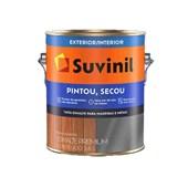 Esmalte Sintético Brilhante Suvinil Pintou Secou Cinza Médio 3,6L