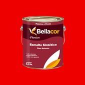 ESMALTE SINTÉTICO BRILHANTE VERMELHO - 3,6L BELLACOR