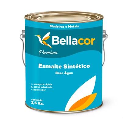 ESMALTE SINTÉTICO FOSCO PREMIUM (BASE ÁGUA) BRANCO - 3,6L BELLACOR