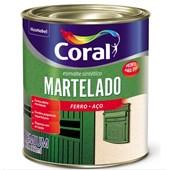 ESMALTE SINTÉTICO MARTELADO AZUL REAL - 900ML CORAL