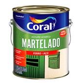 ESMALTE SINTÉTICO MARTELADO VERDE BRASIL - 3,6L CORAL