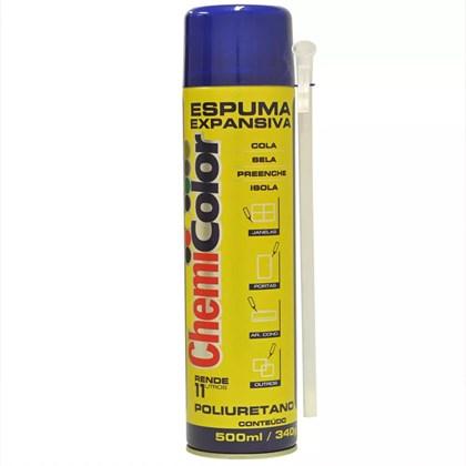 ESPUMA PU EXPANSIVA - 500ML CHEMICOLOR
