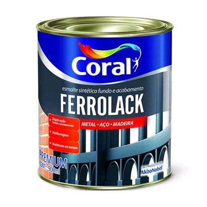 FERROLACK CINZA - 900ML CORAL