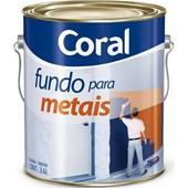 FUNDO GALVANIZADO PARA METAIS - 3,6L CORAL