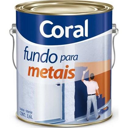 Fundo Galvinado P/ Metais 3,6L - Coral