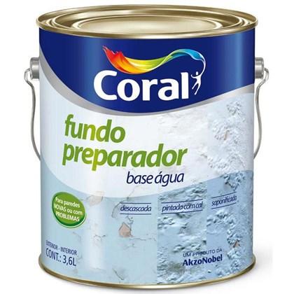 Fundo Preparador De Paredes Base Água 3,6L - Coral