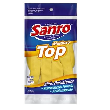 Luva Forrada Amarela - Tampanho P - Sandro