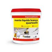 MANTA LÍQUIDA BRANCA - 4,5KG QUARTZOLIT