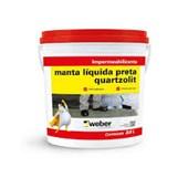 Manta Líquida Preto Vedapren 18kg - Quartzolit