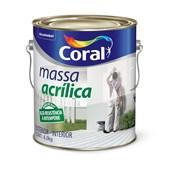 MASSA ACRÍLICA - 3,6L CORAL
