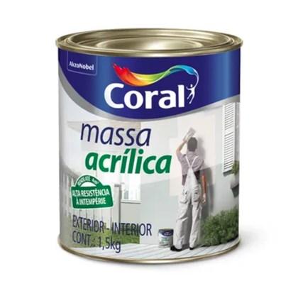 MASSA ACRÍLICA - 900ML CORAL