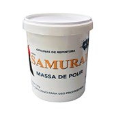 Massa De Polir Base Água Samurai 1kg Bt Refinish