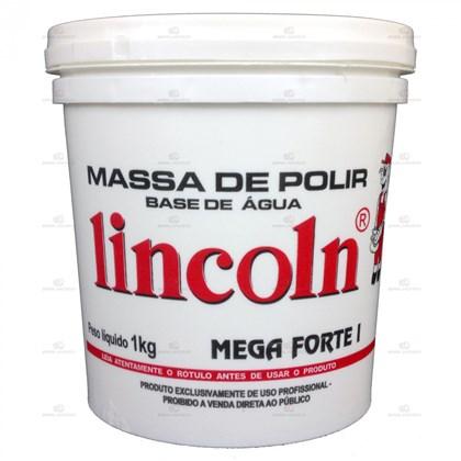 Massa P/ Polir Base Água Mega Forte 1 - Lincoln