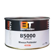 MASSA POLIÉSTER PREMIUM B5000 COM ENDURECEDOR - 750G BT REFINISH