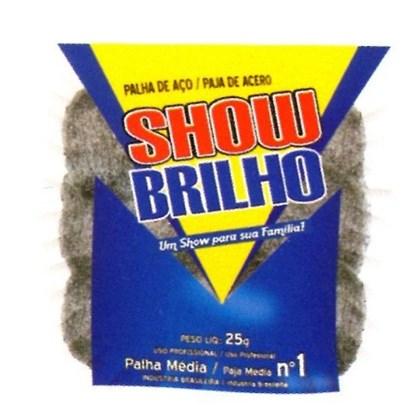 PALHA DE AÇO Nº1 - 25GR SHOW BRILHO