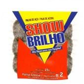PALHA DE AÇO Nº2 - 25GR SHOW BRILHO