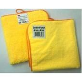 Pano Microfibra  Amarelo 40x40 - 3M