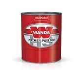 PRIMER PU 3100 KIT 5100+3093 CINZA ESCURO - 900ML WANDA