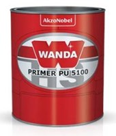 PRIMER PU 3100 KIT 5100+3093 CINZA MÉDIO - 900ML WANDA