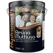Resina Impermeabilizante Multiuso Brilhante Base Solvente Incolor 18L Hydronorth
