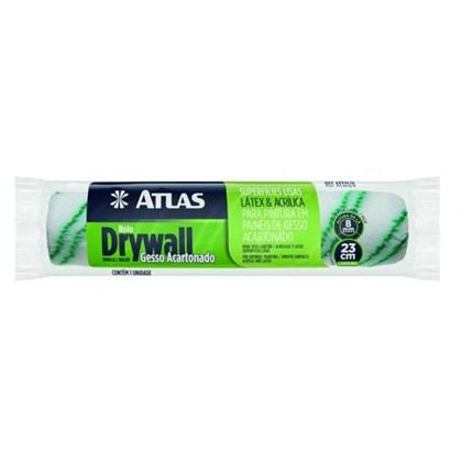 Rolo Lã P/ Gesso Cartonado Drywall 8mm x 23cm - Atlas
