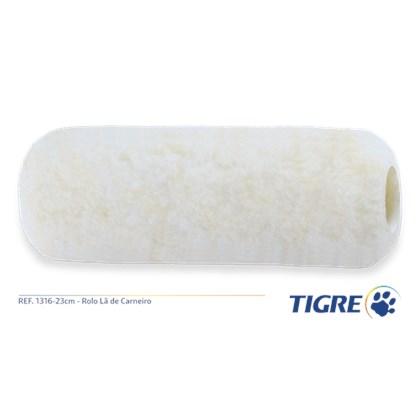 Rolo Lã S/ Cabo 1316 23CM - Tigre
