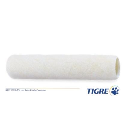 Rolo Lã Veludo 1378 23CM - Tigre