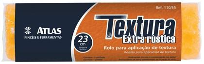 ROLO TEXTURA RÚSTICA EXTRA - 23CM ATLAS